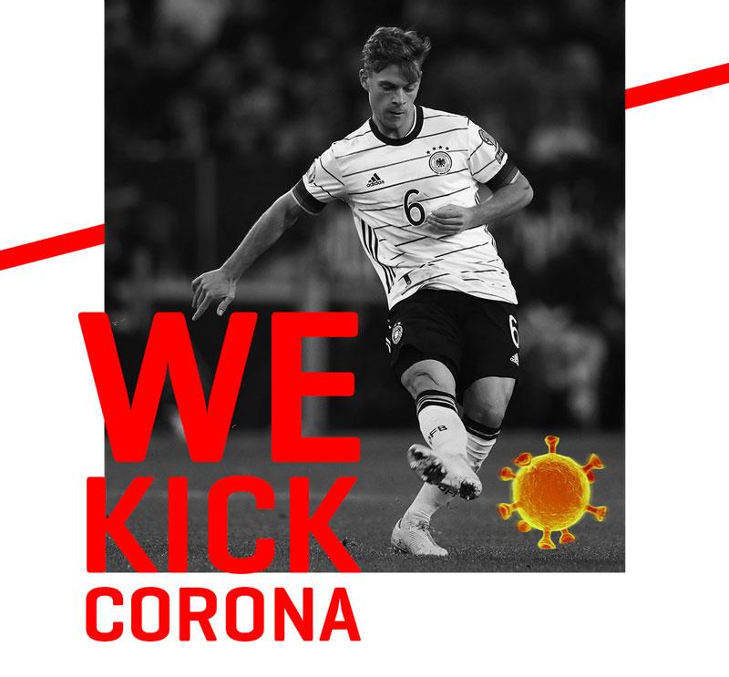 #WeKickCorona